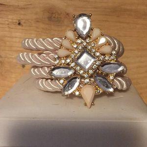 Jewelry - Gorgeous blush statement bracelet